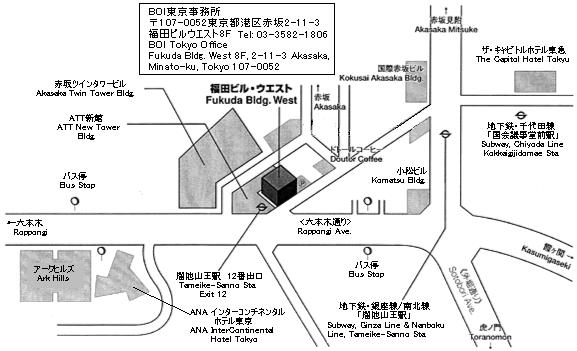 BOI The Board Of Investment Of Thailand - Us embassy tokyo map
